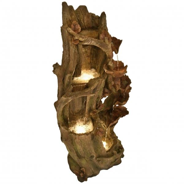 raburg-gartenbrunnen-telaga-holz-optik-mit-blaetter-xxl-led-warm-wei-102880-01