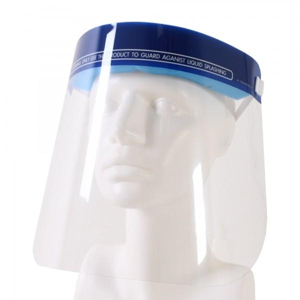 5er Set XL Gesichtsschutz EASY AIR - transparenter Gesichtsschutz mit bequemer Stirnpolsterung